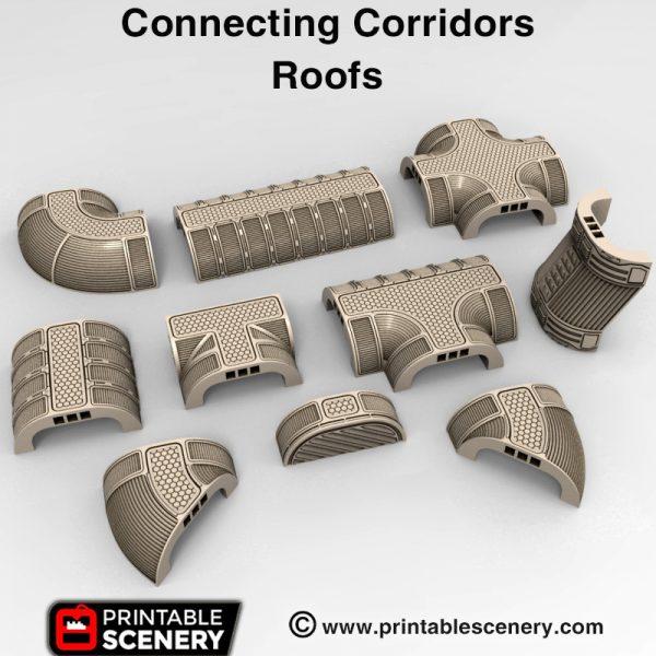 3d print Sanctuary 17 Connecting corridors spaceship