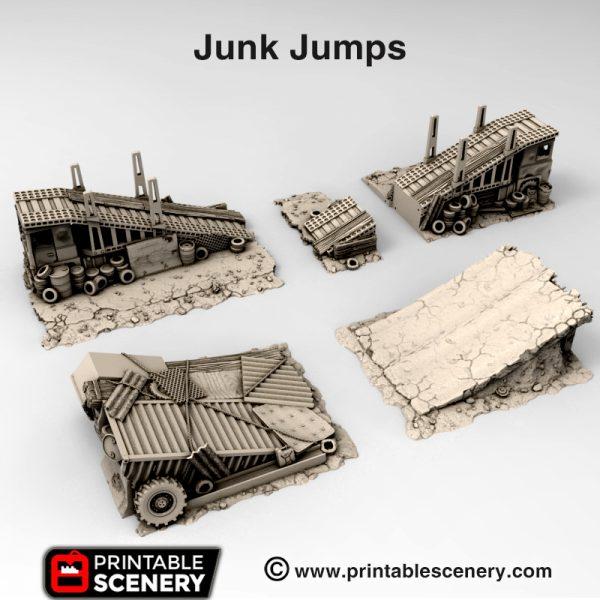 3d Printable Junk Jumps Mad max Post-apocalypse
