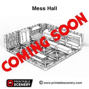 3d print Mess Hall