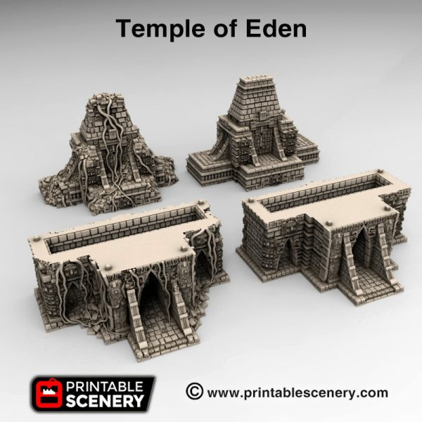 3d print Temple of Eden
