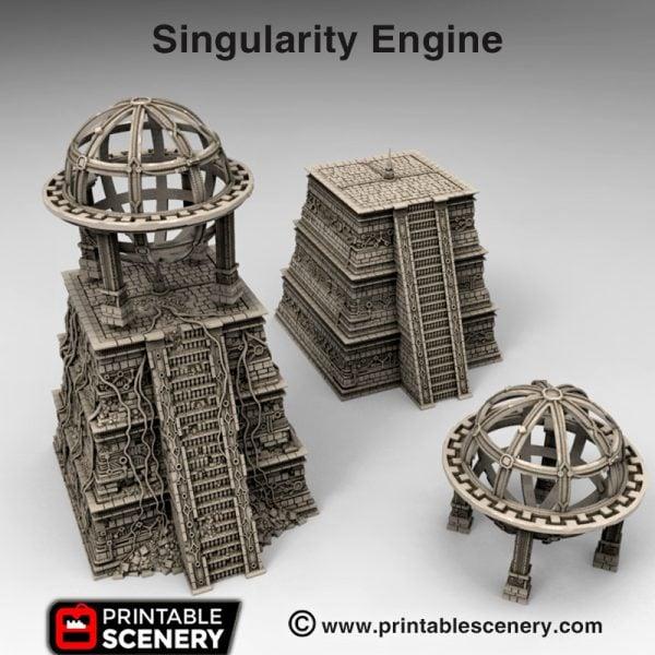 3d print Singularity Engine Pyramid