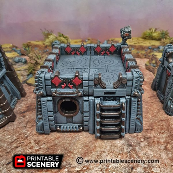 3d Printable Modular Star wars legion Sithic Outpost