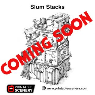 3d print Slum Stacks