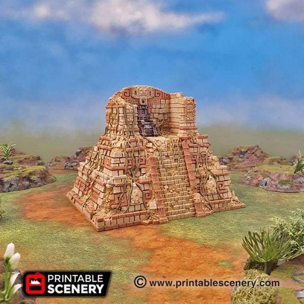 3d printed Serpahon Lizardmen Mayan Aztec