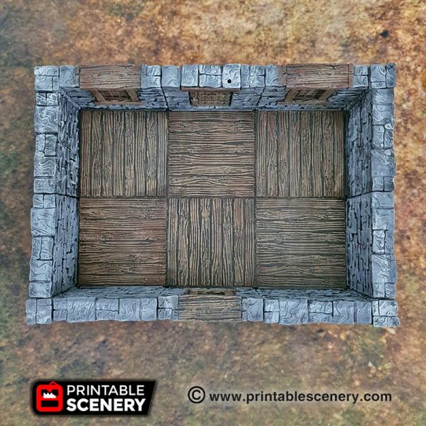 3d printed Openlock Clorehaven dungeons and dragons
