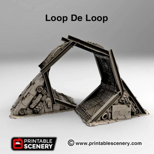 3d print Loop De Loop wastelands gaslands