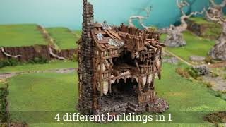 NEW ! Modular Stacking Ruins