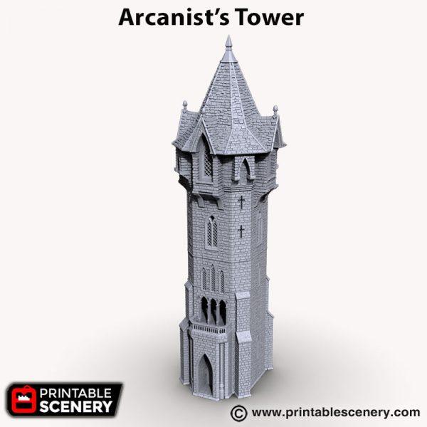 Arcanist's tower 3d print