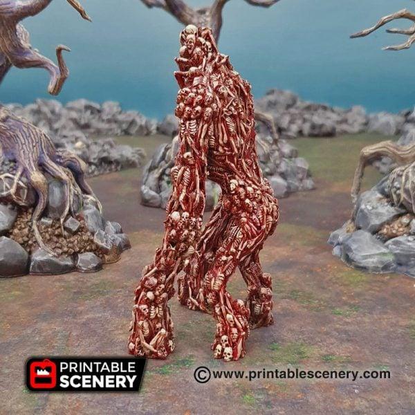 Shadowfey Wilds Corpse Giant Frostgrave Mordheim Age of Sigmar Warhammer Skirmish