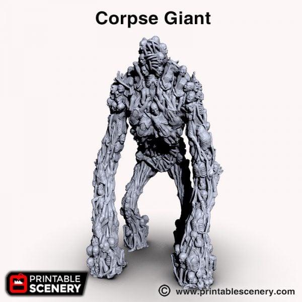 Shadowfey 3d print Corpse giant