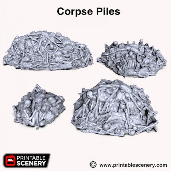 Shadowfey 3d print corpse piles