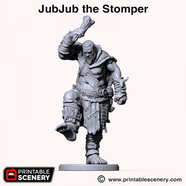 Shadowfey 3d printed giant JubJub