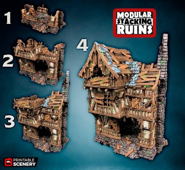 Shadowfey Ruins Frostgrave Mordheim Age of Sigmar Warhammer Skirmish