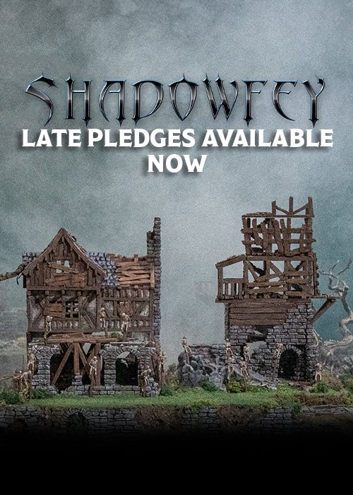 Shadowfey late backer website banner mobile
