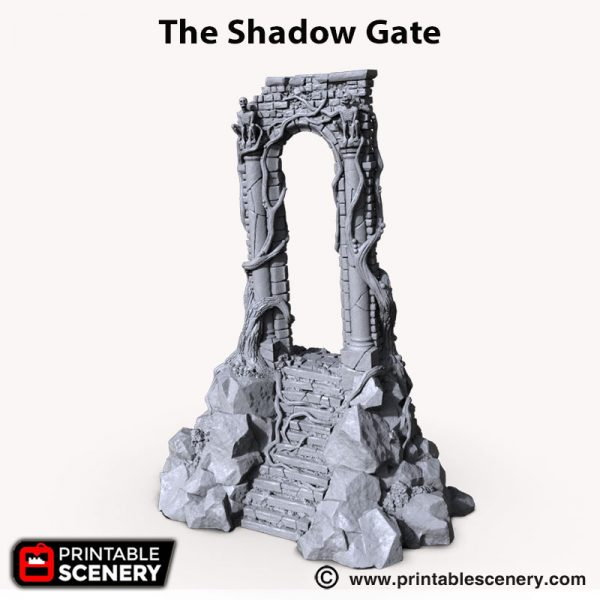 the Shadow Gate 3d printed