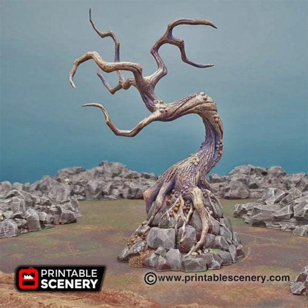 Shadowfey Wilds Contorted trees Frostgrave Mordheim Age of Sigmar Warhammer Skirmish