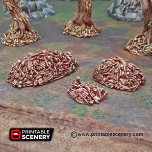 Shadowfey Wilds Corpse piles Frostgrave Mordheim Age of Sigmar Warhammer Skirmish