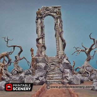 Shadowfey Wilds Shadow gate Frostgrave Mordheim Age of Sigmar Warhammer Skirmish