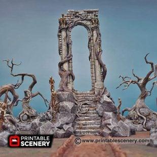 Shadowfey Wilds Shadow gate Frostgrave Mordheim Age of Sigmar Warhammer Skirmish