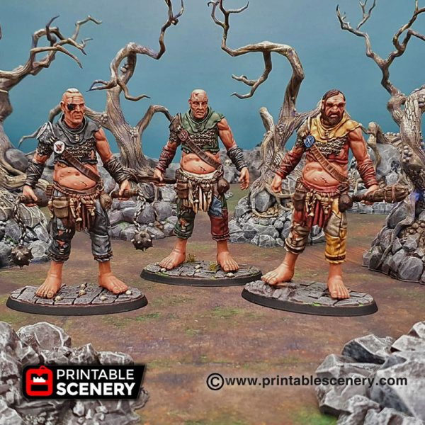 3D printable Warhammer age of Sigmar dungeons and dragons giant sons of behemat