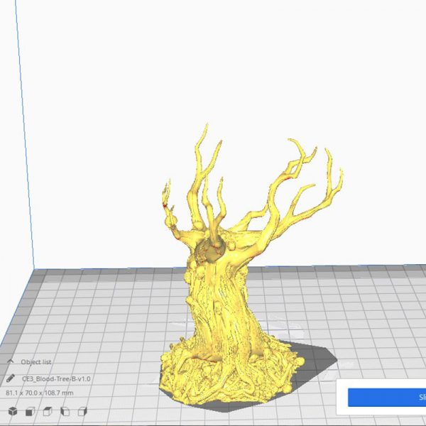 3D Printed blood trees Warhammer age of sigmar Dungeons and Dragons