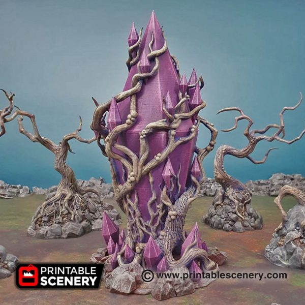 3D Printed Corrupted Feyheart Warhammer age of sigmar Dungeons and Dragons