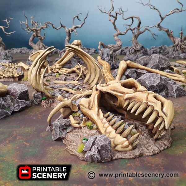 3D Printed Graveyard age of sigmar Dungeons and Dragons