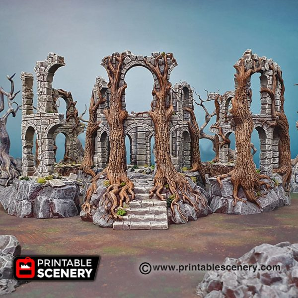 3D Printed Court of the Shadow King age of sigmar Dungeons and Dragons