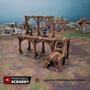 3d Gallow Square Age of Sigmar Dnd Dungeons and Dragons frostgrave mordhiem tabletop games