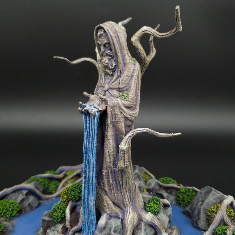 3d printed Feywood Shrine Age of Sigmar scatter terrain warmachine hordes a song of ice and fire Dnd Dungeons and Dragons frostgrave mordhiem pathfinder tabletop games