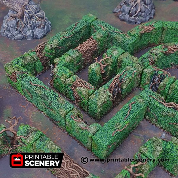 3d hedge maze Age of Sigmar Dnd Dungeons and Dragons frostgrave mordhiem tabletop games pathfinder
