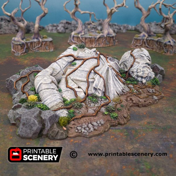 3D Printed Giant Statue Age of Sigmar Dnd Dungeons and Dragons frostgrave mordheim tabletop games