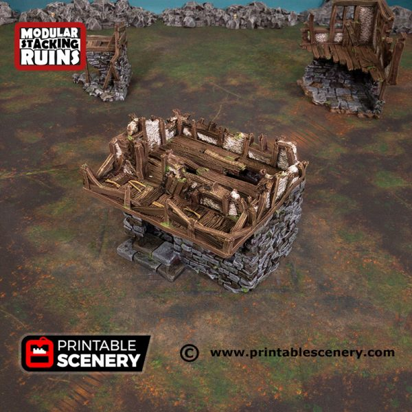 3D Printed Murder Row Age of Sigmar Dnd Dungeons and Dragons frostgrave mordheim tabletop games