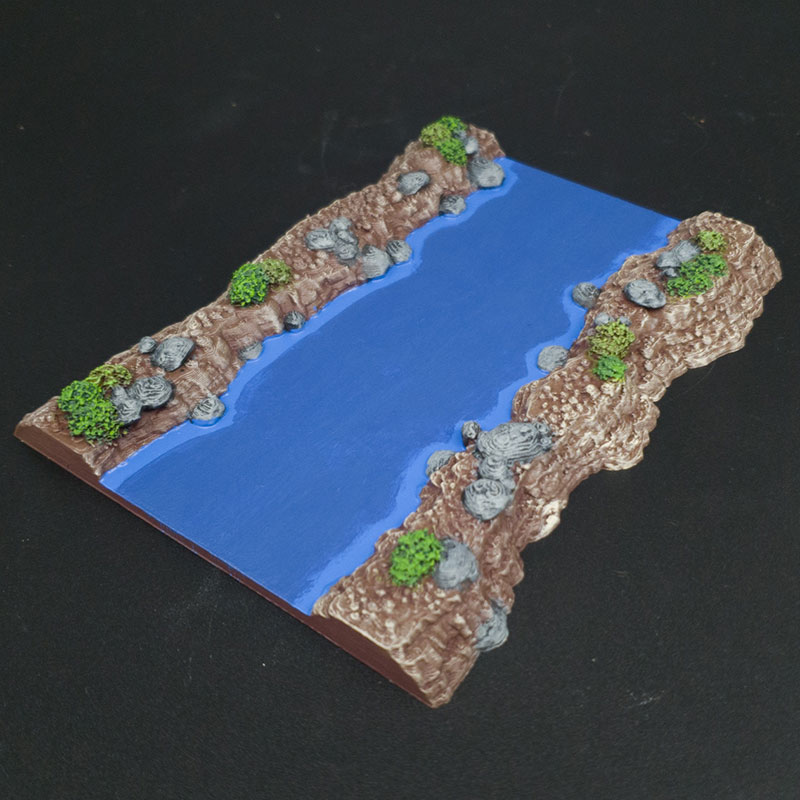 3d printed Wild Rivers Age of Sigmar scatter terrain warmachine hordes a song of ice and fire warhammer 40K Dnd Dungeons and Dragons frostgrave mordhiem pathfinder blood and plunder bolt action flames of war tabletop games