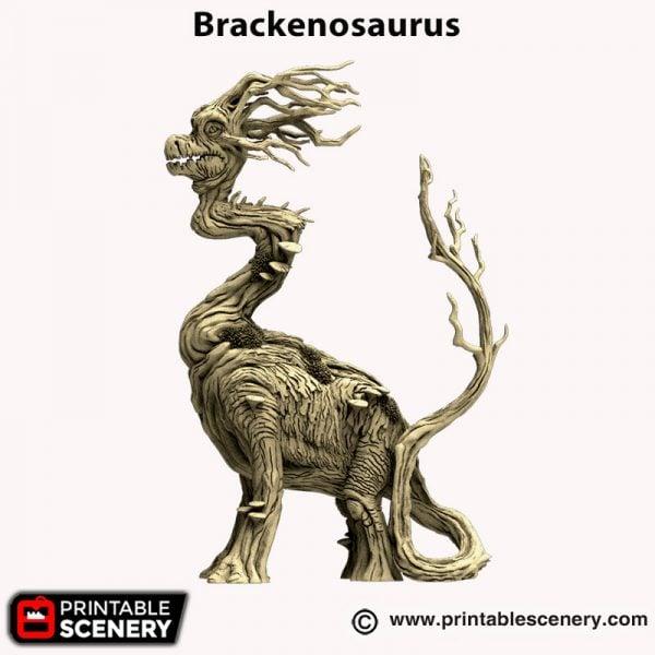 3d printed Brackenosaurus Hagglethorn Hollow
