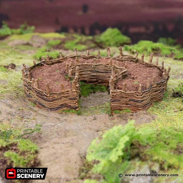 3D Printed Hagglethorn Hollow Common Gardens Age of Sigmar Dnd Dungeons and Dragons frostgrave mordheim tabletop games kings of war warhammer 9th age pathfinder rangers of shadowdeep