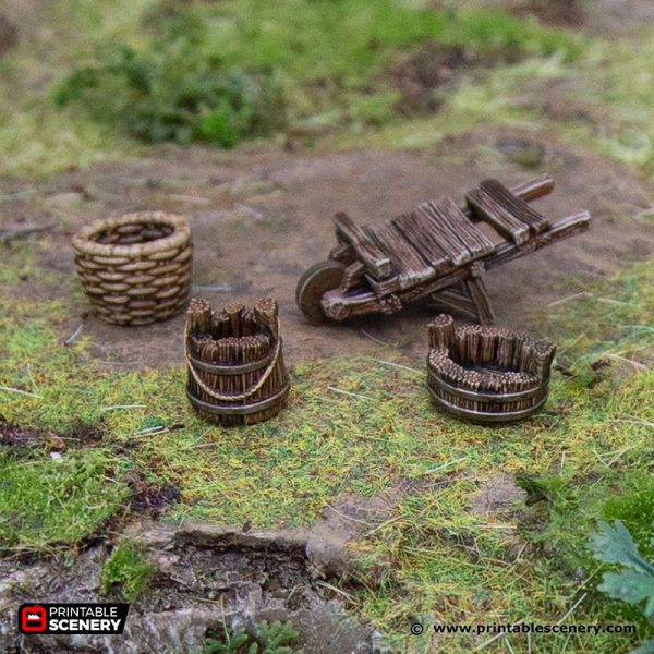 3D Printed Hagglethorn Hollow Hagglethorn Hollow Furnishings Age of Sigmar Dnd Dungeons and Dragons frostgrave mordheim tabletop games kings of war warhammer 9th age pathfinder rangers of shadowdeep
