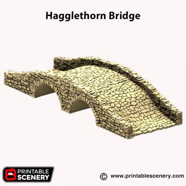 3d printed Hagglethorn Bridge