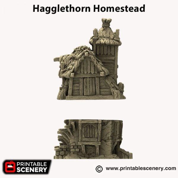 3d printed Hagglethorn Homestead