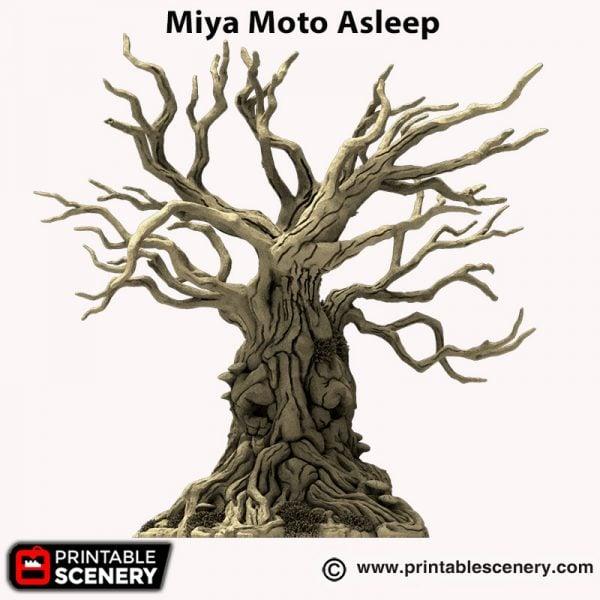 3d printed Miya Moto Asleep Hagglethorn Hollow