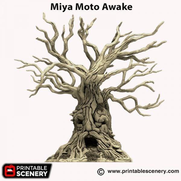 3d printed Miya Moto Awake Hagglethorn Hollow