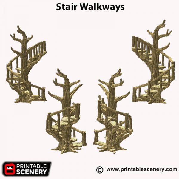 3d printed Stair walkways Hagglethorn hollow