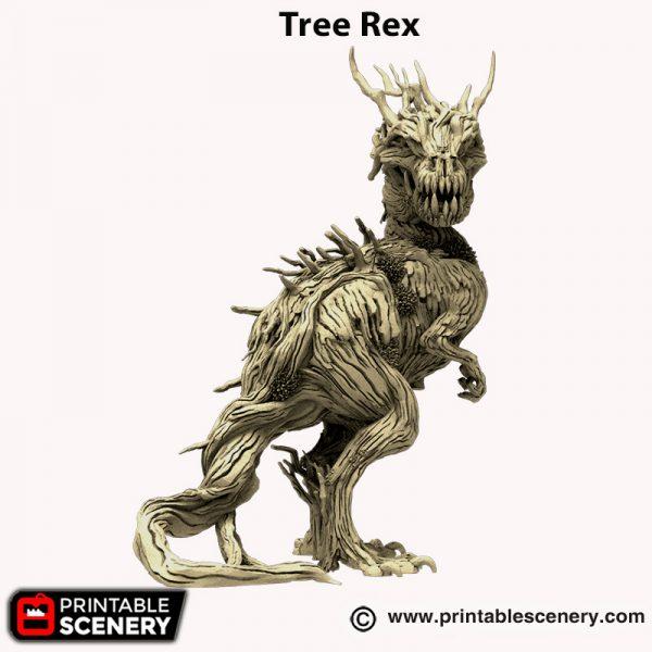 3d printed Tree Rex Hagglethorn Hollow