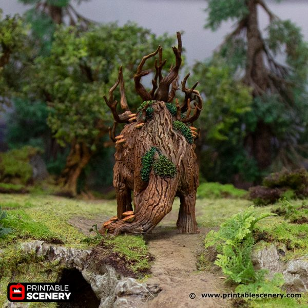 3D Printed Hagglethorn Hollow Treeceratops Age of Sigmar Dnd Dungeons and Dragons frostgrave mordheim tabletop games kings of war warhammer 9th age pathfinder rangers of shadowdeep