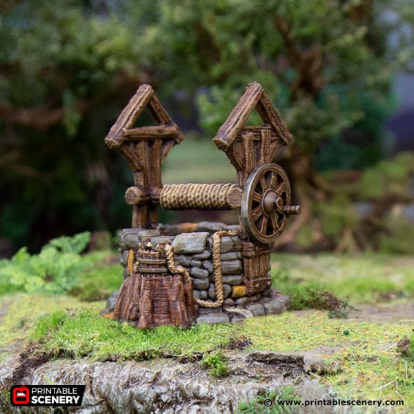 3D Printed Hagglethorn Hollow The Well Age of Sigmar Dnd Dungeons and Dragons frostgrave mordheim tabletop games kings of war warhammer 9th age pathfinder rangers of shadowdeep