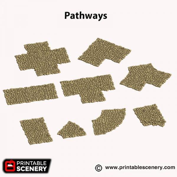 3d printed Pathways