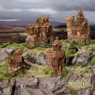 3D Printed Hagglethorn Hollow Age of Sigmar Dnd Dungeons and Dragons frostgrave mordheim tabletop games kings of war warhammer 9th age pathfinder rangers of shadowdeep