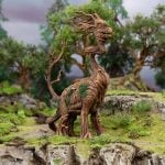 Painting Hagglethorn Hollow: Tree Creatures